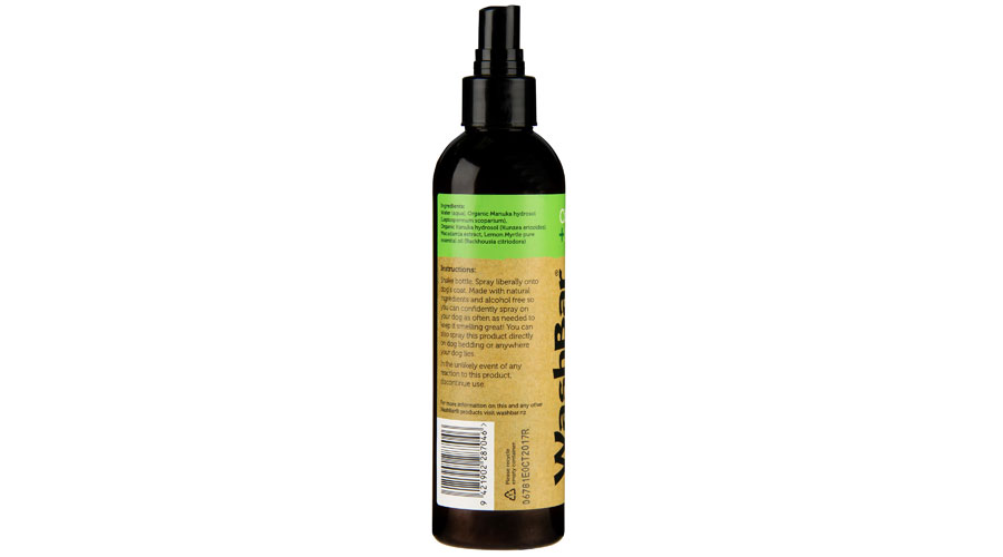 100% Natural Daily Spritzers Washbar Natural Dog Shampoo