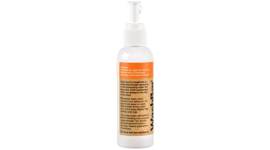 Mighty Mite Poultry Leg Spray Washbar Natural Dog Shampoo